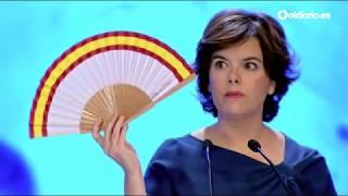 """Soraya expone el abanico de su partido: """"Así es como se ganan elecciones"""""""