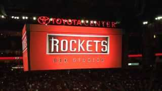 Houston Rockets Newest Intro (Comic Book Themed)