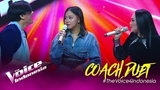 Duet Epic! Naja ft Dewi Gita ft Armand Maulana 🎶 | COACH DUET | The Voice Indonesia GTV 2019