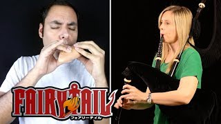 Fairy Tail Main Theme (2014) - Ocarina/Bagpipe Cover || David Erick Ramos ft. TIFITA