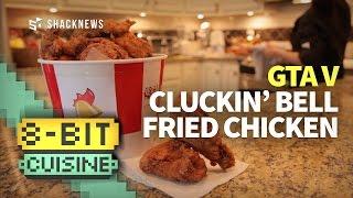 GTA Cluckin' Bell Fried Chicken (8-Bit Cuisine)
