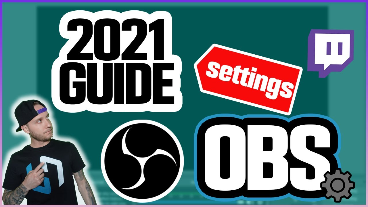 Hammer Dance - Best OBS Studio Streaming Settings ⚙️ 2021 Edition ⚙️
