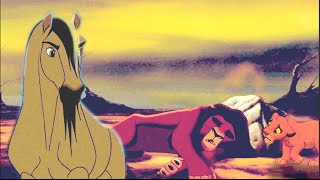 Behind those eyes || Spirit & Kovu Crossover (feat. Simba )