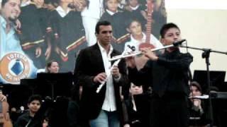 Huascar Barradas y Diego Morcillo San Cristobal Tachira caballo viejo concierto en vivo de flauta
