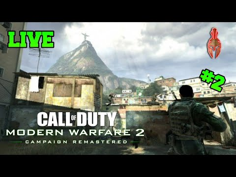 LiveCall of Duty MW2/ #2 Parte, A Favela! (PlayStation 4 )