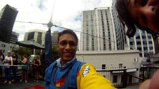 skyjump auckland sky tower by rajeev