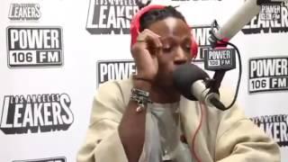 "Joey Bada$$ freestyles over Future's ""Mask Off"" Instrumental"