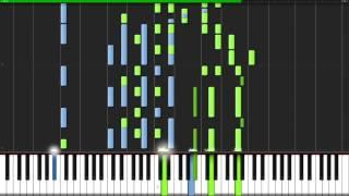 Tomorrow - KonoSuba 2 (Opening) [Piano Duet] (Synthesia) // Anifuse