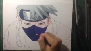 Speed drawing - Hatake Kakashi
