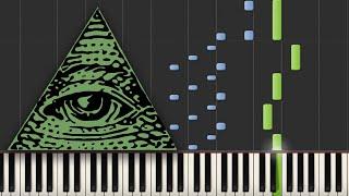 Illuminati Confirmed (X-Files) - Piano Tutorial