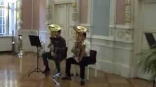 Gavotte von Georg Friedrich Händel für Tuba Duett