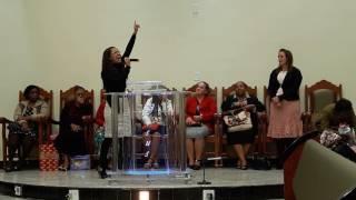 A hora Certa - (as Andorinhas de Cristo ) Stefane Lorraine
