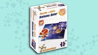 Science4you PT - Puzzle + Livro sistema solar A4 24 peças