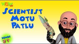 Scientist Motu Patlu - Motu Patlu in Hindi - 3D Animation Cartoon for Kids -As on Nickelodeon width=