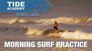 TIDE Academy Morning Surf Practice 2015