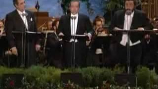 Domingo Pavarotti Carreras - Brindisi - live - Verdi