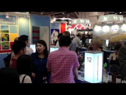 SA Pavilion at Vinexpo 2012 Hong Kong
