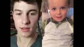Shawn Mendes-Treat you better--Sing along with fans.