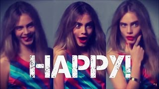 Happy - Pharrel Williams by: Cara Delevingne :)