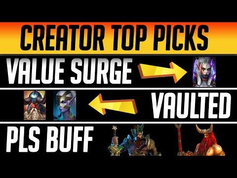 RAID CREATORS TOP CHAMP PICKS!   Raid: Shadow Legends