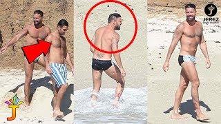 Ricky Martin dijo que ya se casó con su pareja  Jwan Yosef / @JerezRossy @Alexdejs