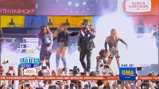 Fifth Harmony  - Down (Live on Good Morning America)