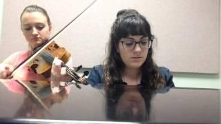 Lean On - Major Lazer/DJ Snake ft MØ piano violin cover
