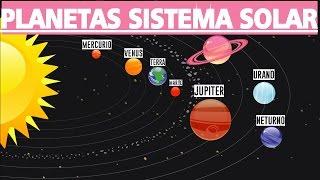 Planetas do Sistema Solar   Memorizar Planetas ( Para Crianças)
