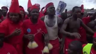 """Evala 2018: Les Kabyè chantent: """"Atchadam a fui...Atchadam a pris la fuite"""" devant Faure Gnassingbé"""