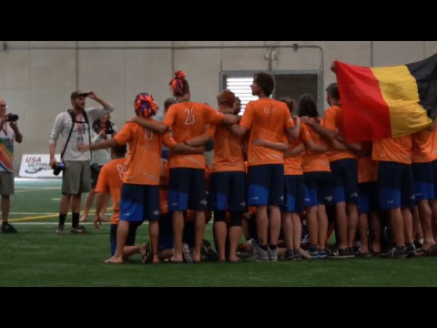 Video Thumbnail: 2018 World Ultimate Club Championships, Mixed Final: Boston Slow White vs. Seattle BFG