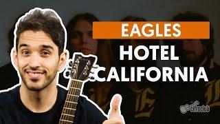 Videoaula Hotel California (aula de violão)