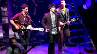 Pushing Me Away - Jonas Brothers - Pantages Theater, Los Angeles, CA 11/29/12