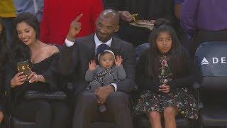 Kobe Bryant Jersey Retirement! Durant Game Winner on Lonzo Ball! 2017-18 Season