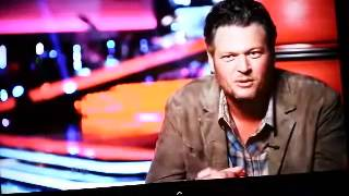 The VOICE Blake Shelton Hammer Time funny Gwen Stefani, Adam Lavine, Pharrrell Willaims