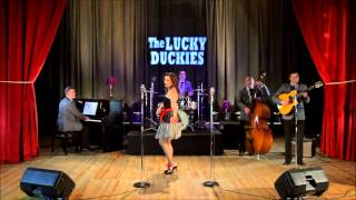 Ma, He's Making Eyes At Me-The LUCKY DUCKIES featuring Claudia Faria (official clip)