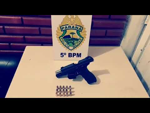 Policiais Militares de Londrina prendem homem armado - Cidade Portal