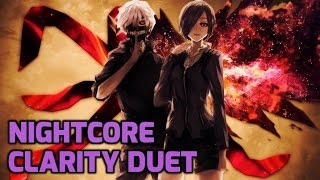 Nightcore - Clarity (Duet + Lyrics)