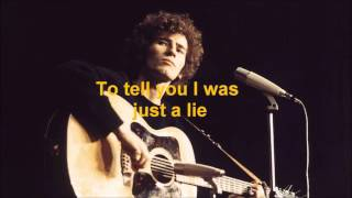 Tim Buckley - Once I Was (Lyrics)
