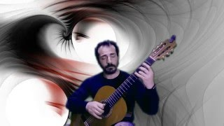 Time to say goodbye - Con te partirò - theme for guitar