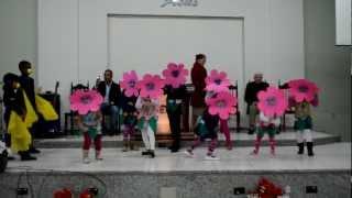 A Sementinha (Aline Barros) - Coreografia Crianças da IBRE-BICAS FULL HD