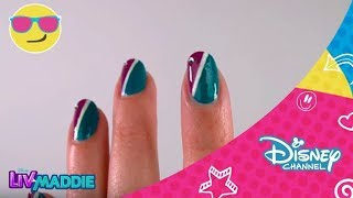Disney Channel España | Nail Art con Dove Cameron (Liv y Maddie)