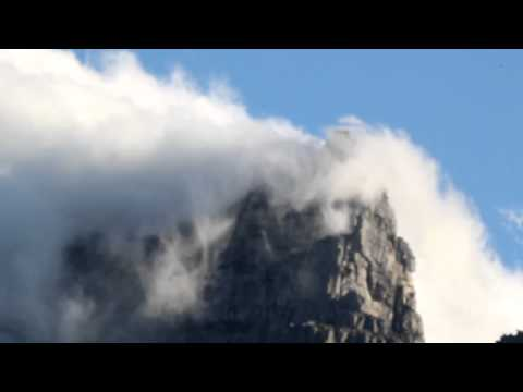 The Table Cloth Effect on Table Mountain Cape Town South Africa