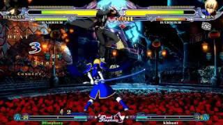 BlazBlue CS: DSimphony (Hazama) VS Kishant (Jin)