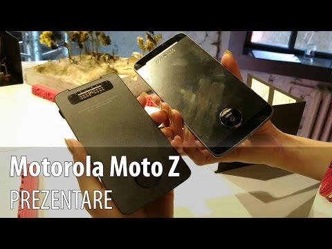 Motorola Moto Z, Prezentare Hands-on în Limba Română