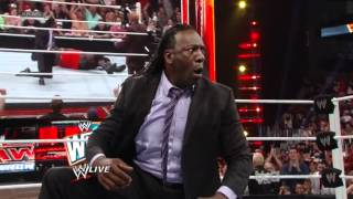 Team Johnny & Team Teddy Confrontation (Booker T Joins Team Teddy) - WWE Raw 3/26/12