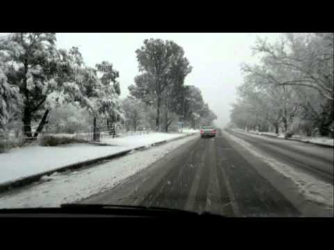 Snow In Queenstown, Eastern Cape, South Africa.mp4
