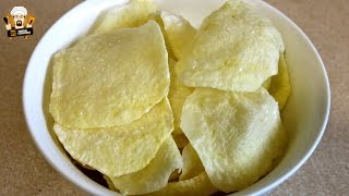 SALT & VINEGAR MICROWAVE POTATO CHIPS