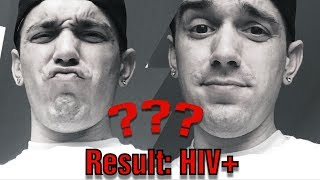 I'm HIV + Positive  (Finding out status Live - Recorded Live in Clinic)