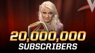 WWE tiene un mensaje muy especial por los 20 millones de suscriptores en Youtube