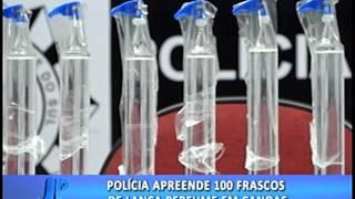 Polícia apreende 100 frascos de lança perfume em Canoas | Jornal da Pampa | 12/06/2017